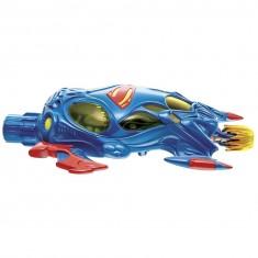 Lanceur avec figurine Superman : Bleu