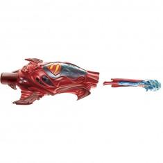 Lanceur avec figurine Superman : Rouge