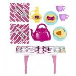 Mini mobilier Barbie : A l'heure du thé