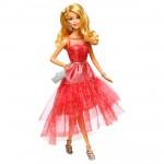 Poupée Barbie : Amies mode : Robe de soirée rose