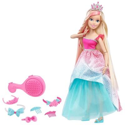 poup e barbie grande princesse blonde coiffer jeux et jouets mattel avenue des jeux. Black Bedroom Furniture Sets. Home Design Ideas