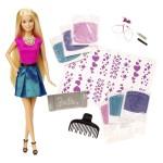 Poupée Barbie Styles et Paillettes