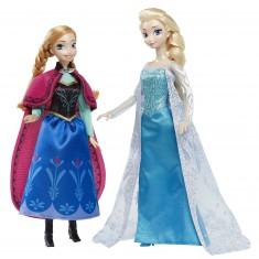 Poupée Disney Classique Collection : La Reine des Neiges : Anna et Elsa d'Arendelle