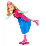 Poupée Frozen la reine des neiges : Anna reine du patinage