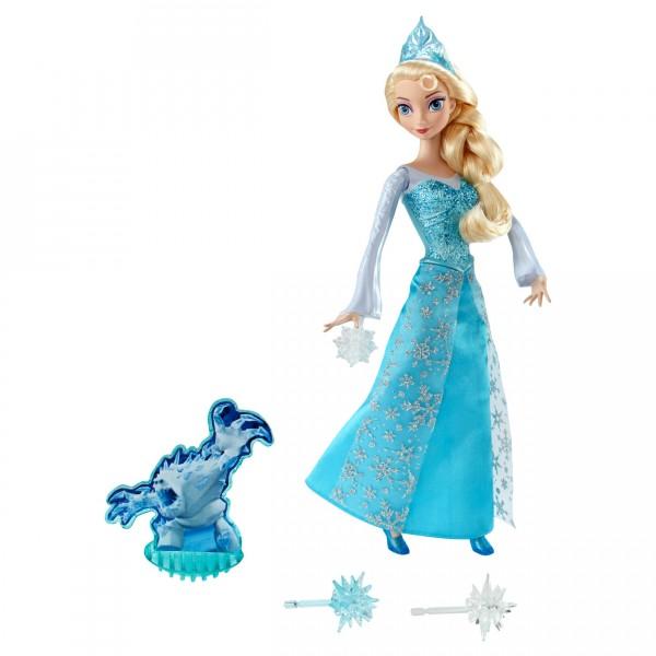 Poupée La Reine des Neiges (Frozen) : Elsa pouvoir de glace - Mattel-CGH15