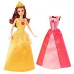 Poupée Princesses Disney : Princesse et robes à paillettes : Belle