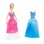 Poupée Princesses Disney : Princesse et robes à paillettes : Cendrillon