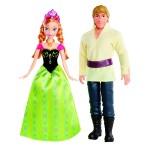 Poupées La Reine des Neiges : Coffret duo : Anna et Kristoff
