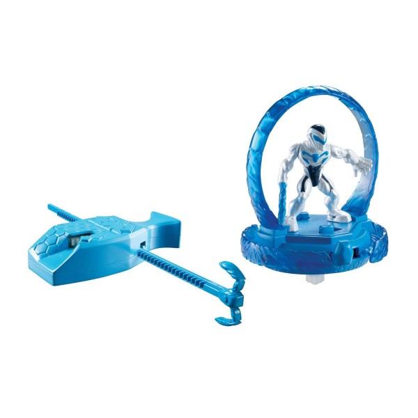 Toupie et figurine Max Steel : Toupie Turbo fighter : Epée Turbo - Mattel-Y1388-Y1394