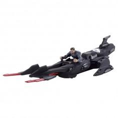Véhicule avec figurine Superman : Jet furtif du Général Zod