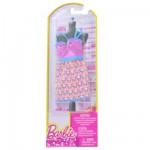 Vêtements pour poupée Barbie Robe fabuleuse : Robe à bretelles rose avec motifs