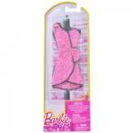 Vêtements pour poupée Barbie Robe fabuleuse : Robe de soirée rose à paillettes