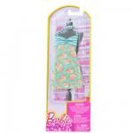 Vêtements pour poupée Barbie Robe fabuleuse : Robe dos nu à fleurs