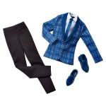 Vêtements pour poupée Ken : Tenue : Veste à carreux et pantalon noir