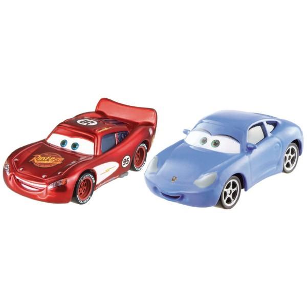voitures cars coffret 2 v hicule flash mcqueen et sally jeux et jouets mattel avenue des. Black Bedroom Furniture Sets. Home Design Ideas