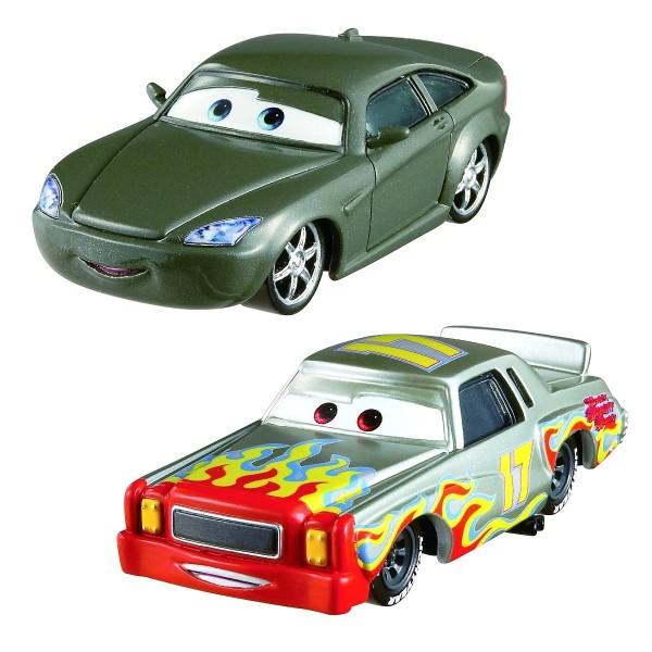 Voitures Cars : Coffret 2 véhicules : Bob Cutlass et Chris Dinner - Mattel-Y0506-BHL50