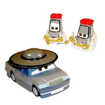 voitures cars coffret 3 v hicules pr tre et cardinaux jeux et jouets mattel avenue des jeux. Black Bedroom Furniture Sets. Home Design Ideas