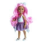 Poupée Barbie : Chelsea chevelure magique rose
