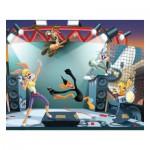 Puzzle 100 pièces : Looney Tunes, Rock'n Roll attitude