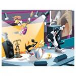 Puzzle 45 pièces : Looney Tunes, le concert