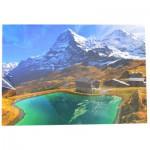 Puzzle 500 pièces : Alpes suisses, Canton de Berne