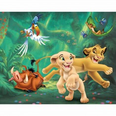 Puzzle 60 pièces : Le Roi Lion Balade entre amis