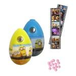 Oeuf projecteur d'image avec bonbons : Minions