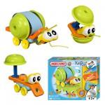 Meccano - Escargot - Modèle Kids Play à construire : 20 pièces