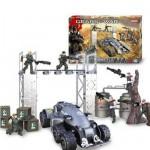 Meccano Gears of wars : Locust Delta Squad Battle