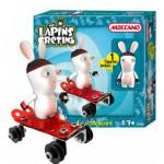 Meccano Lapins crétins : Le skateboard