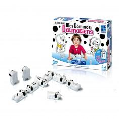 Mes dominos dalmatiens
