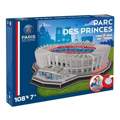 Puzzle 3D 108 pièces : Stade de foot : Parc des Princes (Paris Saint-Germain) - Megableu-33001
