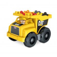Megabloks : Camion de chantier Cat Dump truck