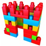 Megabloks : Sac de 70 briques