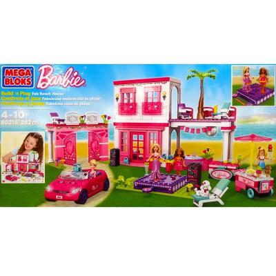 Megabloks Barbie : Fabuleuse maison - Megabloks-80214U