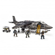 Megabloks Call of Duty : Avion de chasse Strike Fighter
