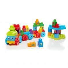 Megabloks First Builders : Train d'apprentissage