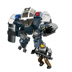 Megabloks Halo : Cyclope Police Unsc