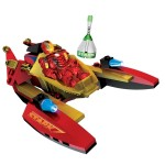 Megabloks Iron Man 2 : Jet-boat pursuit