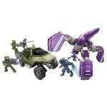 Véhicules et figurines à assembler : Halo : Unsc Gausshog Vs Covenant Locust
