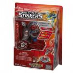 Toupie avec lanceur et commande magnétique : Battle Strikers : Iceblade