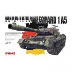 Maquette Accessoires Militaires : German Main Battle Tank Leopard 1 A5