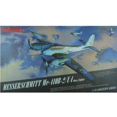 Maquette avion : Messerschmitt Me-410B-2/U4 Chasseur lourd allemand 1944 - Meng-LS001