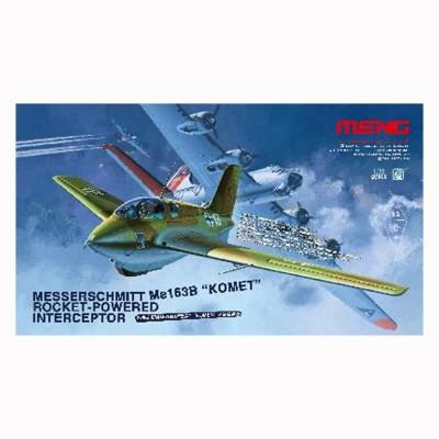 Maquette avion MESSERSCHMITT Me-163B KOMET Chasseur fusée allemand 1944/1945 - Meng-QS001
