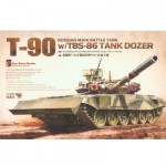 Maquette Char : T-90 w/ TBS-86 Tank Dozer