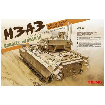 Maquette Char : US M3A3 Busk III Bradley - Meng-SS006