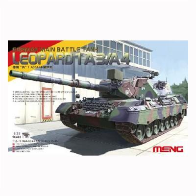 Maquette char LEOPARD 1 A3/A4 Char de bataille principal allemand 1978 - Meng-TS007