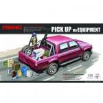 Maquette Pick-up avec équipement et matériel divers