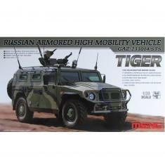 Maquette Véhicule militaire : GAZ 233014 STS Tiger Véhicule blindé à haute mobilité Russe