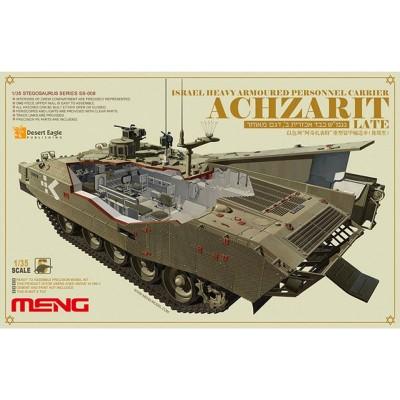 Maquette Véhicule Militaire : Transport de troupes israéliennes Achzarit - Meng-SS008